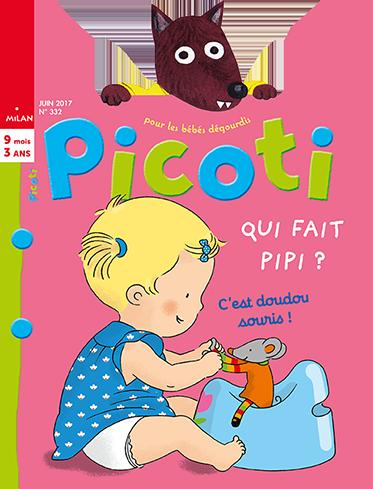 Les couvertures des derniers magazines Picoti