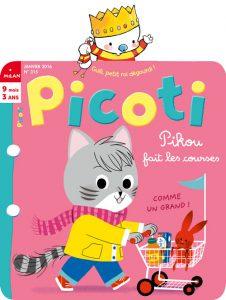 Lire Picoti magazine à votre enfant !
