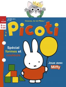 couverture Janvier 2013 - Picoti
