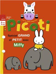 Couverture Picoti mai 2013 - special grand et petit