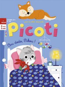 Chou dodo Pikou - couverture Picoti Octobre 2013