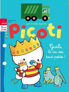 Couverture Janvier 2014 Picoti