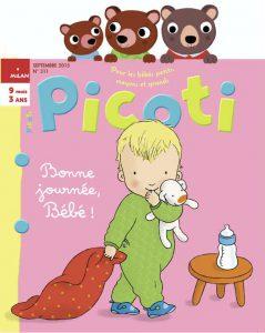 Une nouvelle rentrée pour bébé avec Picoti magazine !