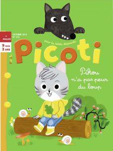 Picoti n'a pas peur du loup !