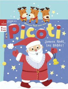 Bébé découvre noël avec Picoti magazine !