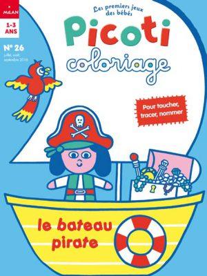 Bienvenue dans le monde des pirates dans Picoti coloriage