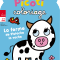 La ferme de Pistache la vache avec Picoti coloriage