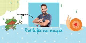 C'est la fête aux escargots - Rémi langue des signes