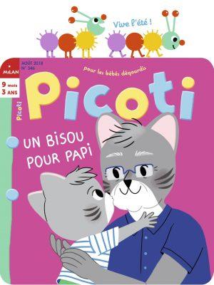 Picoti 346 (01/08/2018) : Un bisou pour papi