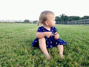bébé relation nature