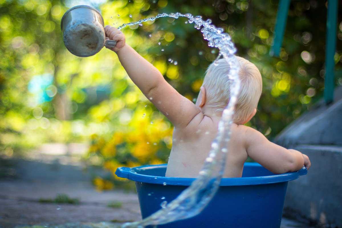 jeux d'eau bébé